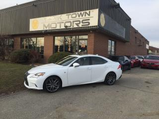 Used 2015 Lexus IS 250 F-Sport/Red-Int/AWD/Nav/BackCam/SunRf for sale in North York, ON