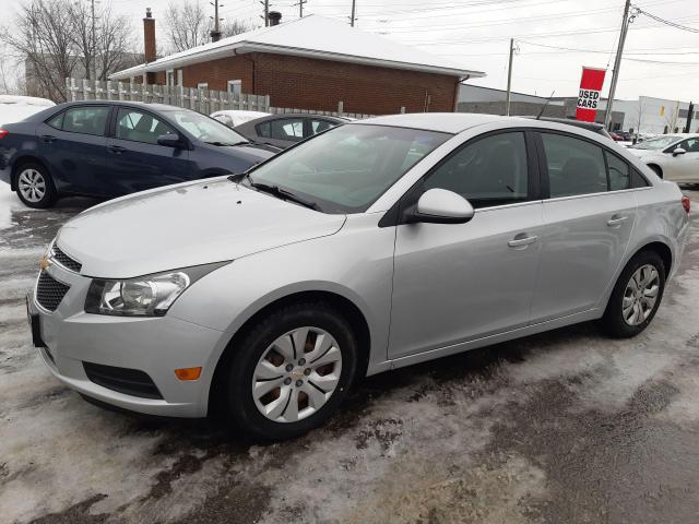 2012 Chevrolet Cruze LT Turbo, ACCIDENT FREE, AUTO, POWER GROUP, 120 KM