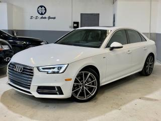 Used 2017 Audi A4 S-LINE|TECHNIK|NAV|BLIND SPOT|DRIVE SELECT| for sale in Oakville, ON