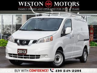 Used 2013 Nissan NV200 SV*ROOF RACKS*PWR GRP*AUX*SHELVING!!* for sale in Toronto, ON