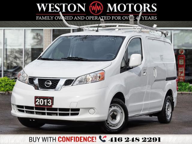 2013 Nissan NV200 SV*ROOF RACKS*PWR GRP*AUX*SHELVING!!*