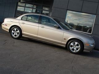 2002 Jaguar S-Type 3.0L V6|LEATHER|SUNROOF|ALLOYS