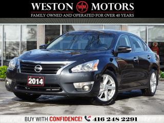 Used 2014 Nissan Altima 2.5*SL*LEATHER*SUNROOF*NAVI*REV CAM*LANE ASSIST!!* for sale in Toronto, ON