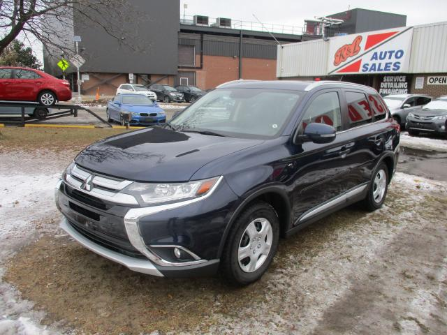 2016 Mitsubishi Outlander GT ~ 7 PASS. ~ LEATHER ~ LDW ~ AWD ~ LOW KM