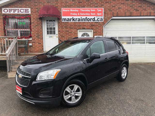 2014 Chevrolet Trax LT FWD One-Owner Bluetooth