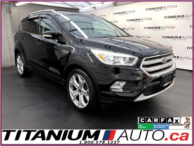 2017 Ford Escape Titanium+AWD+GPS+Pano+Self Park+Lane Asssit+BSM+XM