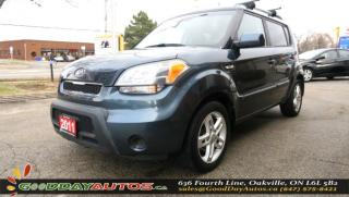 Used 2011 Kia Soul 2u LOW KM NO ACCIDENT BLUETOOTH HEATED SEATS CERT. for sale in Oakville, ON