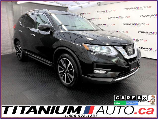 2017 Nissan Rogue SL+AWD+Safety Shield+GPS+360 Camera+Pano+Leather+
