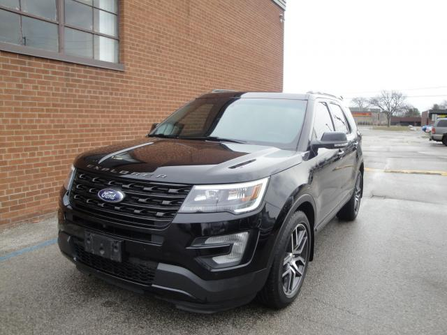 2017 Ford Explorer ONE OWNER/NO ACCIDENTS /DSPORT/7 PASSENGER / 4WD