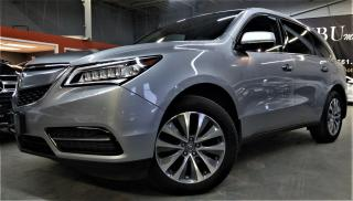 Used 2016 Acura MDX Tech Pkg Dvd Navi for sale in North York, ON