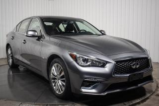 Used 2018 Infiniti Q50 LUXE AWD 2.0T CUIR TOIT MAGS  CAMERA DE for sale in St-Hubert, QC