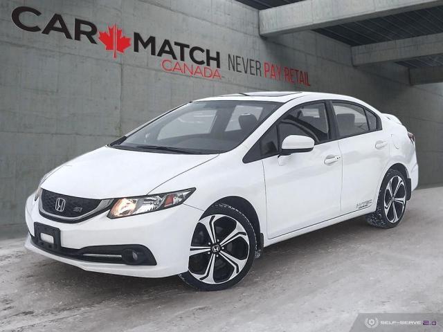 2014 Honda Civic Si / NAV / ROOF / 127202 KM