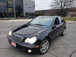 Used 2007 Mercedes-Benz C-Class C280, Leather, Sunroof, 3/Y warranty availa for sale in Toronto, ON