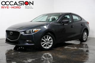 Used 2017 Mazda MAZDA3 GX CAM.RECUL+A/C+BLUETOOTH for sale in Boisbriand, QC