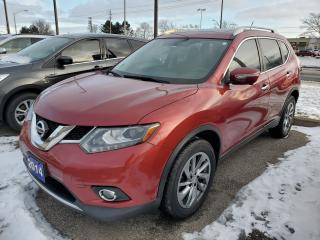 Used 2014 Nissan Rogue SL for sale in Brantford, ON