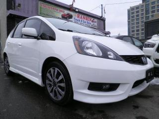 Used 2013 Honda Fit Sport for sale in Brampton, ON
