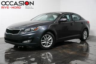 Used 2013 Kia Optima LX MAGS+SIEGES.CHAUFFANTS+BLUETOOTH for sale in Boisbriand, QC