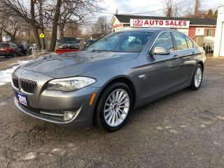 Used 2011 BMW 5 Series 535i xDrive All Wheel Drive/Navi/Comes Certified for sale in Scarborough, ON