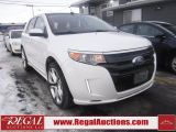 Photo of White 2011 Ford EDGE SPORT 4D UTILITY 4WD