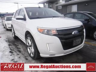 Used 2011 Ford EDGE SPORT 4D UTILITY 4WD for sale in Calgary, AB