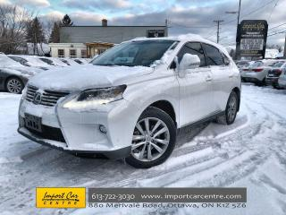 Used 2015 Lexus RX 350 Sportdesign TOURING PACKAGE  LEATHER  ROOF  NAVI for sale in Ottawa, ON