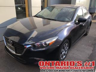 Used 2017 Mazda MAZDA3 BACKUP CAM,BLUETOOTH !!! for sale in Toronto, ON
