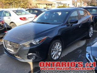 Used 2016 Mazda MAZDA3 BACKUP CAM,LEATHER SEATING,SUNROOF !!! for sale in Toronto, ON