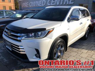 Used 2018 Toyota Highlander AWD,NAV,LEATHER SEATING,PANORAMIC ROOF !!! for sale in Toronto, ON