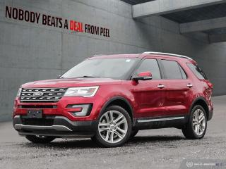 Used 2017 Ford Explorer *Heated Seats/Whl*Rem Start*Pwr Liftgate*Cam* for sale in Mississauga, ON