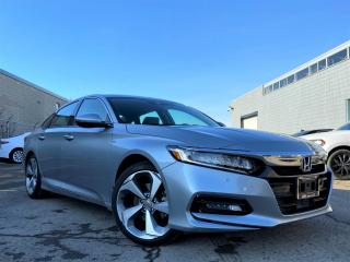 Used 2018 Honda Accord Sedan |TOURING|WIRELESS CHARGER|BLIND SPOTS|CAM|SUNROOF|WARRANTY! for sale in Brampton, ON