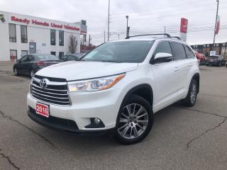 Used 2016 Toyota Highlander XLE - Navigation - Leather - Sunroof for sale in Mississauga, ON