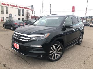 Used 2016 Honda Pilot Touring - Navigation - Leather - DVD for sale in Mississauga, ON
