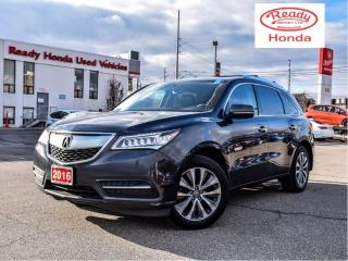 Used 2016 Acura MDX Nav Pkg - Leather - Sunroof - Rear Camera for sale in Mississauga, ON