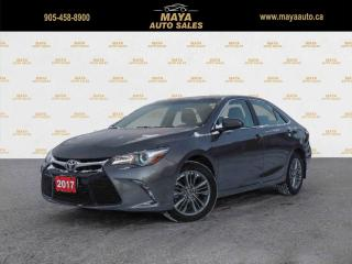 Used 2017 Toyota Camry SE Low kms, extra clean for sale in Brampton, ON