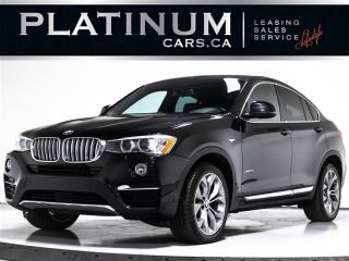 Used 2016 BMW X4 xDrive28i, NAV, SUNROOF, HEATED SEAT, CLEAN CARFAX for sale in Toronto, ON