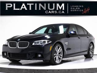 Used 2016 BMW 5 Series 535i xDrive, M-SPORT, NAV, DRIVERS ASSIST PKG, CAM for sale in Toronto, ON