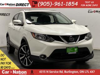 Used 2018 Nissan Qashqai SL| AWD| LEATHER| SUNROOF| NAVI| for sale in Burlington, ON