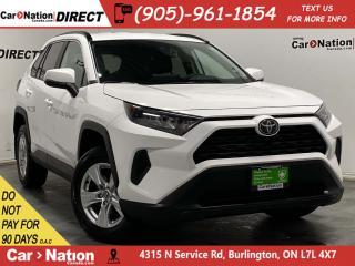 Used 2019 Toyota RAV4 LE| AWD| HEATED SEATS| BACK UP CAMERA| for sale in Burlington, ON