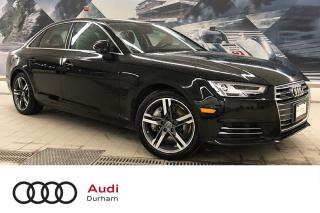 Used 2017 Audi A4 2.0T Technik quattro + Nav | 360 Cam | Blind Spot for sale in Whitby, ON