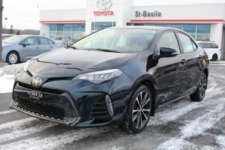 Used 2019 Toyota Corolla SE MAGS TOIT CUIR SIEGES CHAUFFANTS CAMERA RE for sale in St-Basile-le-Grand, QC