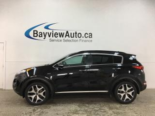 Used 2018 Kia Sportage SX Turbo - AWD! LEATHER! PANOROOF! NAV! for sale in Belleville, ON