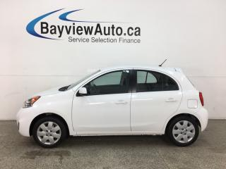 Used 2017 Nissan Micra SV - AUTO! A/C! FULL PWR GROUP! for sale in Belleville, ON