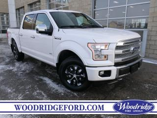Used 2017 Ford F-150 PLATINUM for sale in Calgary, AB