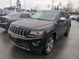 Used 2014 Jeep Grand Cherokee 4x4 Overland Navigation! Back up Camera! Sunroof! Eco Diesel! for sale in Surrey, BC