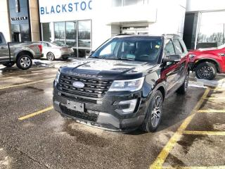 Used 2017 Ford Explorer 4WD Sport-One Owner Trade-Accident Free-Navigation-Leather for sale in Orangeville, ON