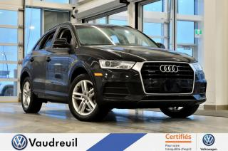Used 2017 Audi Q3 2.0T Komfort quattro * TOIT PANO * 18 PO for sale in Vaudreuil-Dorion, QC