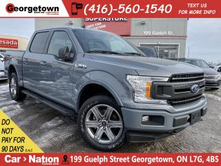 Used 2019 Ford F-150 SPORT 4WD CREW PANO 302a HTD SEATS NAV B/U CAM for sale in Georgetown, ON