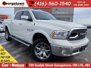 Used 2017 RAM 1500 Limited|CLEAN CARFX|ROOF| NAVI|BU CAM|LTHR|TOW PKG for sale in Georgetown, ON