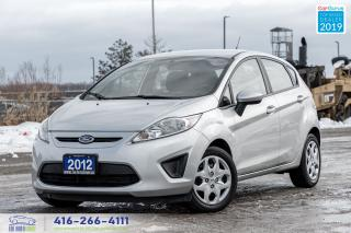 Used 2012 Ford Fiesta SE 1 Owner Clean Carfax Certified Finance Serviced for sale in Bolton, ON