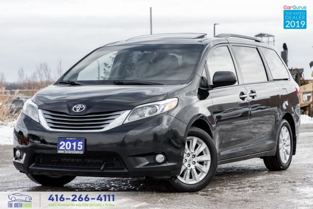 2015 Toyota Sienna XLE AWD Leather/Roof/NavGps Clean Carfax Finance